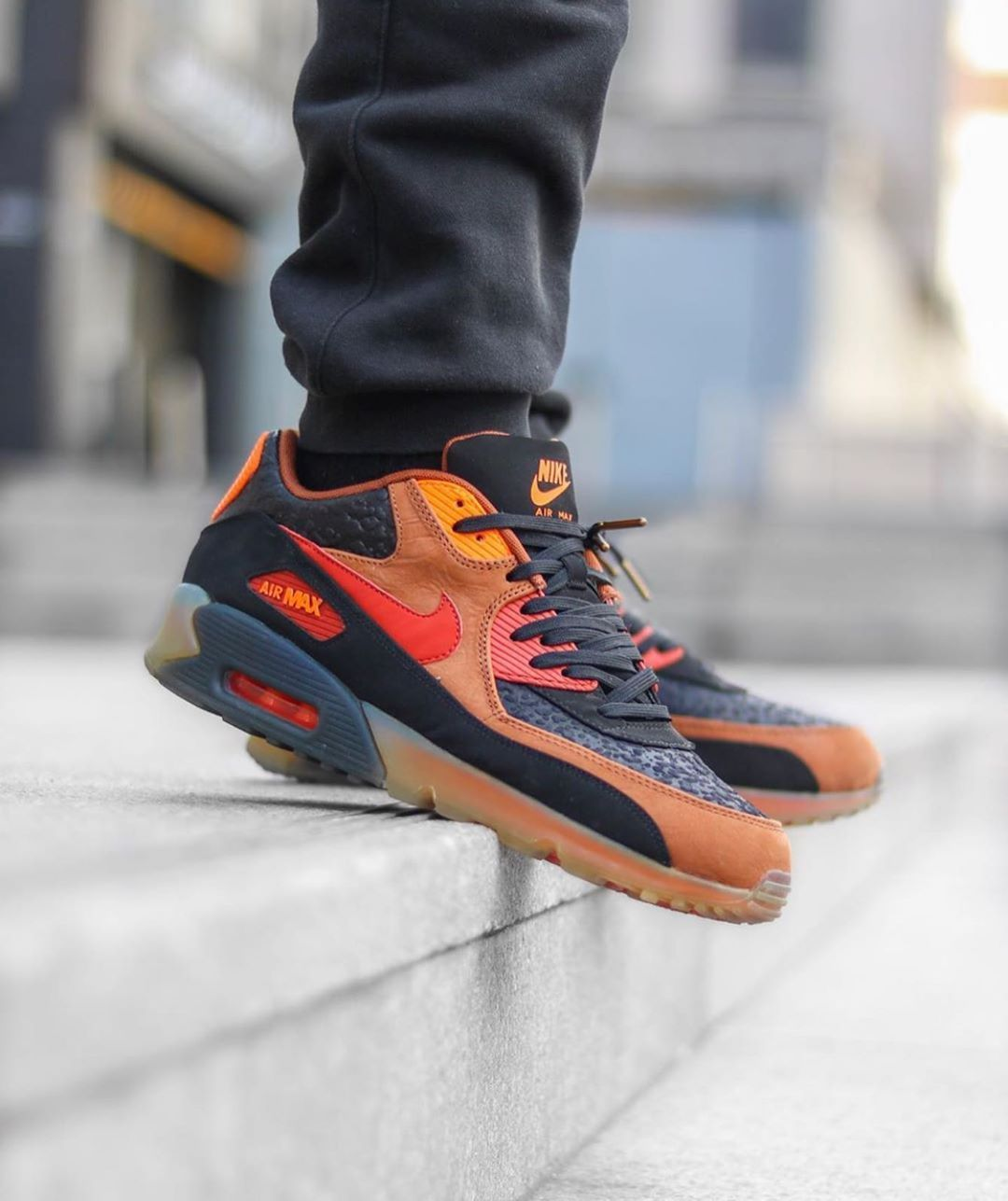 Nike Air Max 90 X Ice Halloween How Do You Think These Compare To This Year S Airmaxkicks Nike Air Max Nike Air Air Max Sneakers
