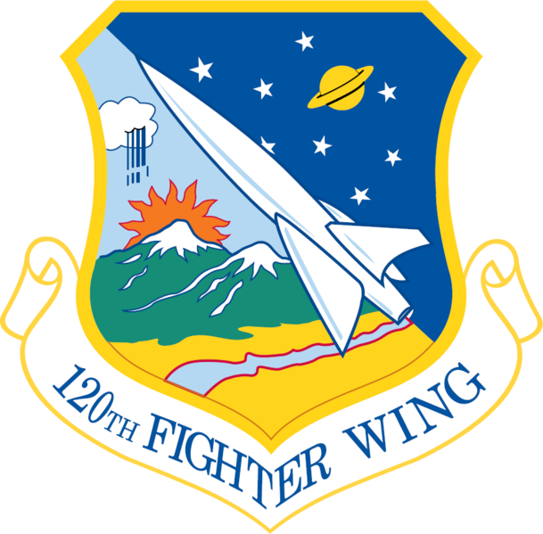 120th Fighter Wing, Great Falls, MT Air force patches