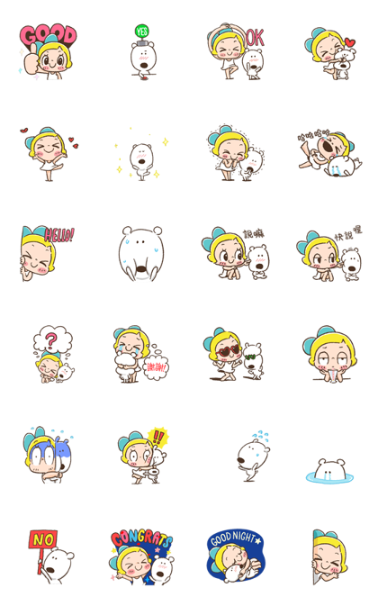 Lemon & Sugar 2 Sticker for LINE & WhatsApp — Android