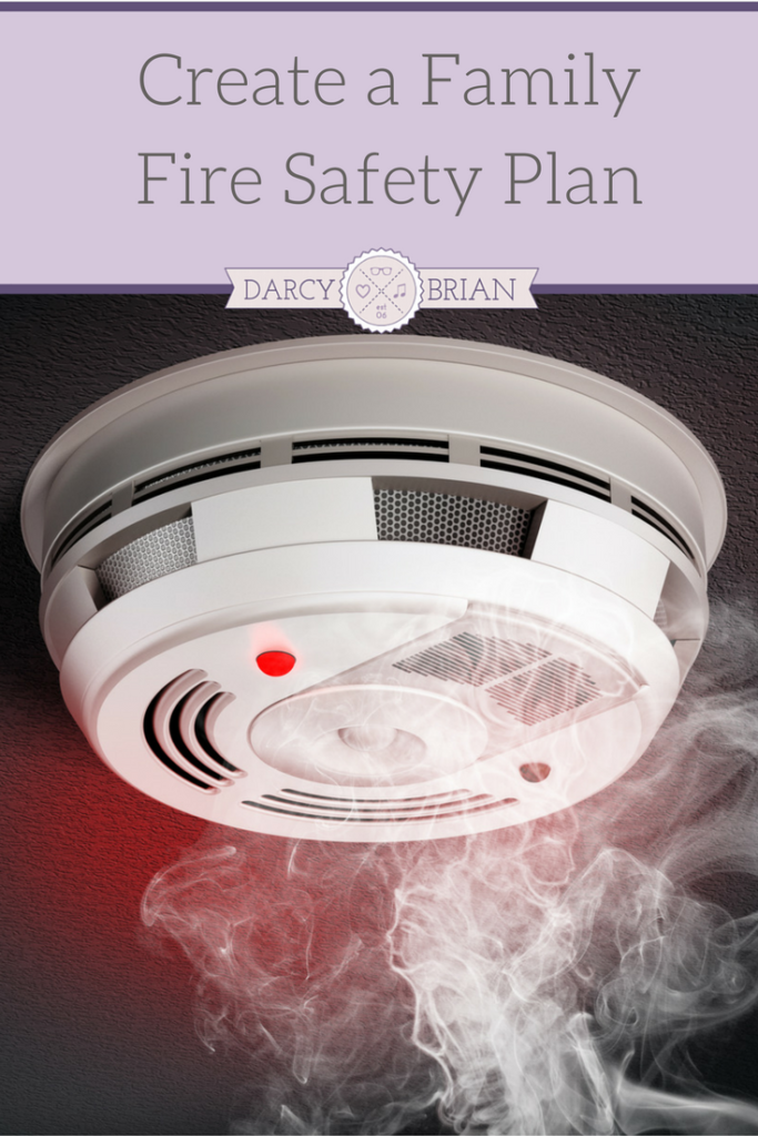 How To Create A Family Fire Safety Plan With The Kids  Fire