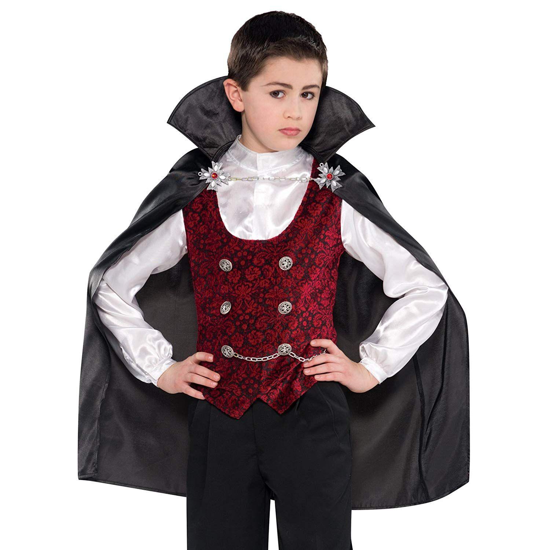 Disfraz de Vampiro Halloween para niño Novedades y