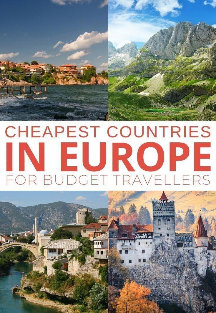 Los países más baratos de Europa para viajeros con presupuesto …, #europa # günstig …
