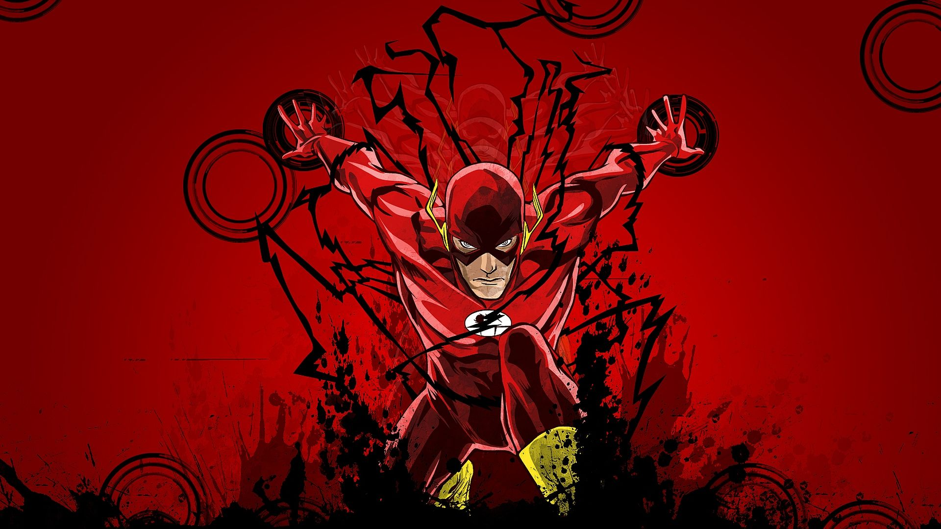 The Flash HD Wallpapers Arte de parede infantil, League