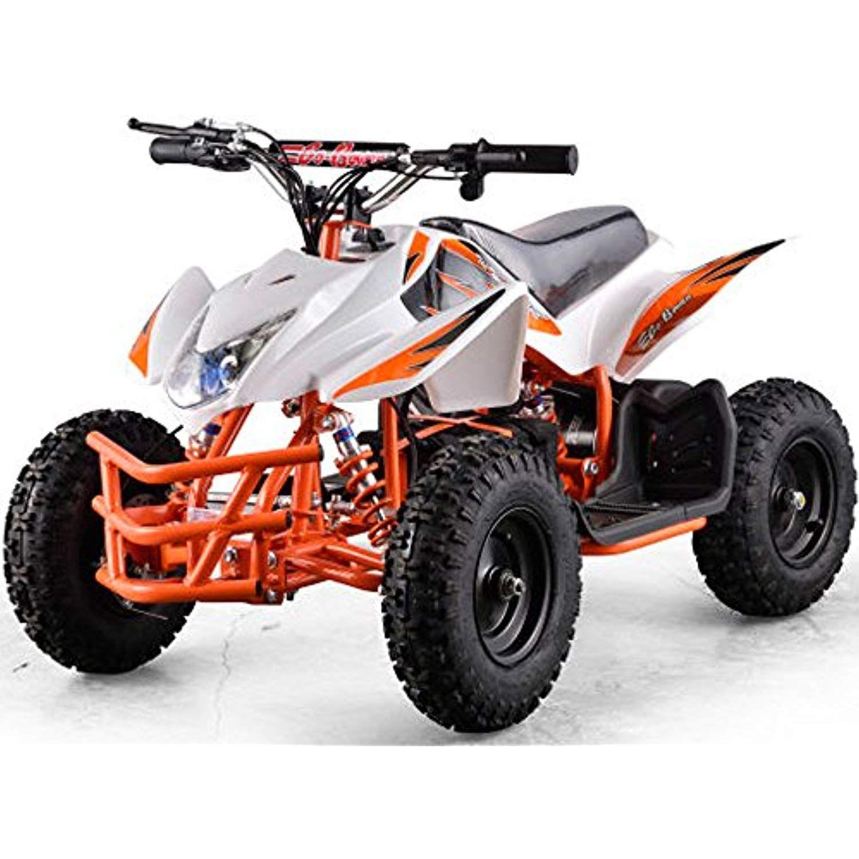 Titan Outdoor Kids Children 24v White Mini Quad Atv Dirt Motor