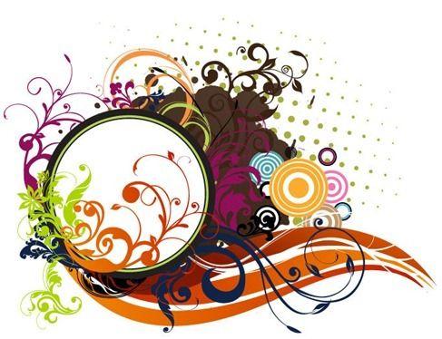 Floral Background Illustration Vector