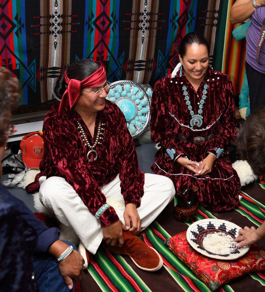 Navajo wedding sharing corn michael tutt and valonia hardy navajo