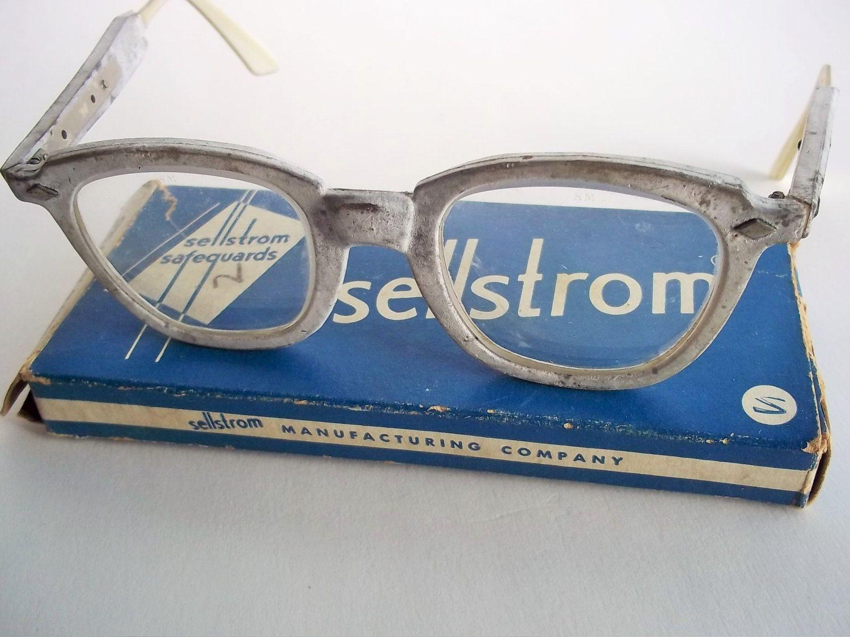 Vintage Safety Glasses Sellstrom Safety Eyewear Adjustable
