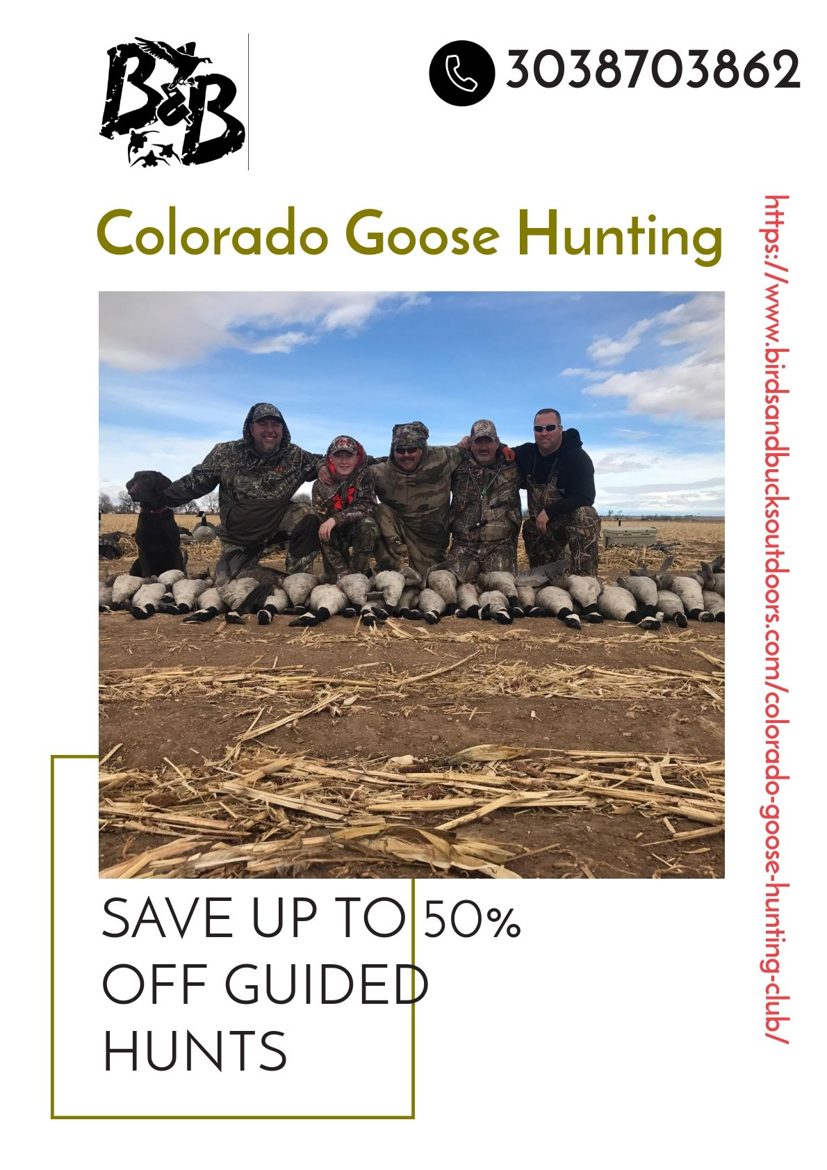 Colorado Goose Hunting Birds and Bucks Outfitters is the