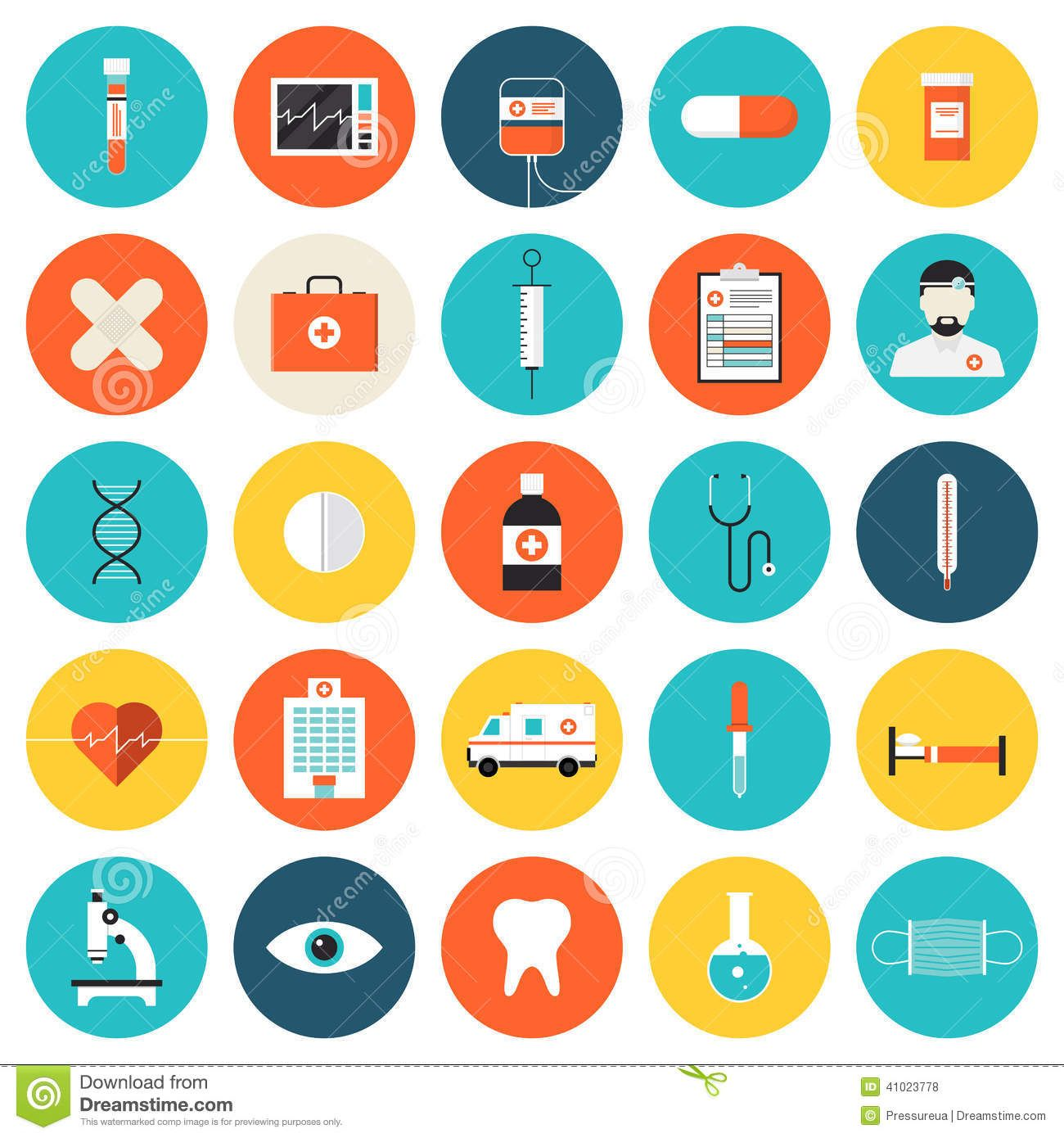 Medical healthcare flat icons set tools equipment science research flat icons set of medical tools and healthcare equipment science royalty free cliparts vectors and stock illustration biocorpaavc Choice Image