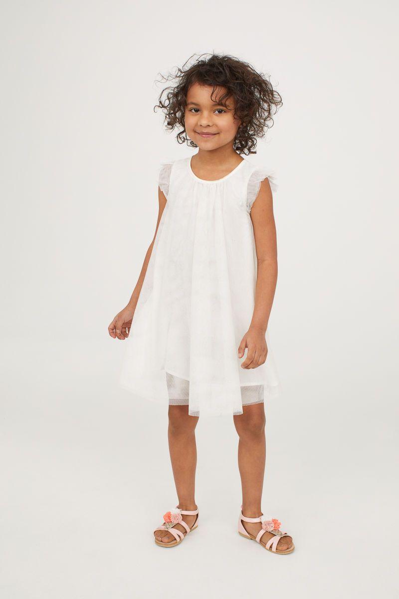 b5fa448961c Tulle Dress with Glitter