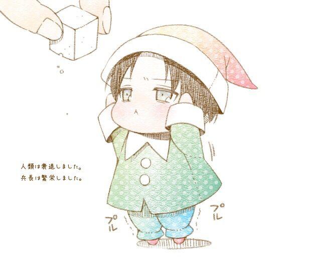 Christmas Anime Boy Attack On Titan Cute Anime Chibi Chibi Boy Anime Baby