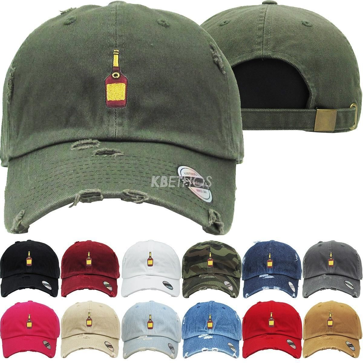 20328e52f42 Henny Bottle Dad Hat Baseball Cap Unconstructed - Kbethos