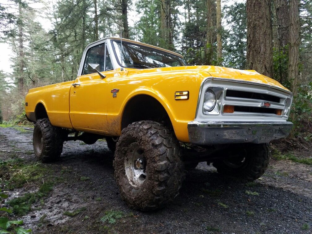 68 chevy truck 4x4