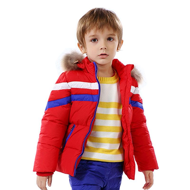 d0814209c Click to Buy    Warm White Duck Down Kid Down Coat Jacket Child ...