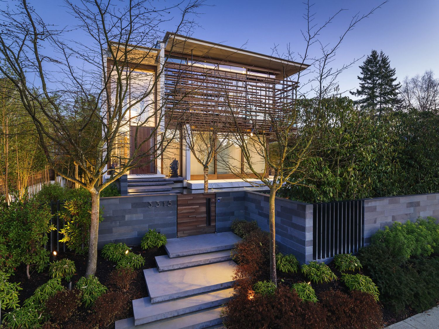 WestCoast Modern Home with Asian Influence Vancouver British