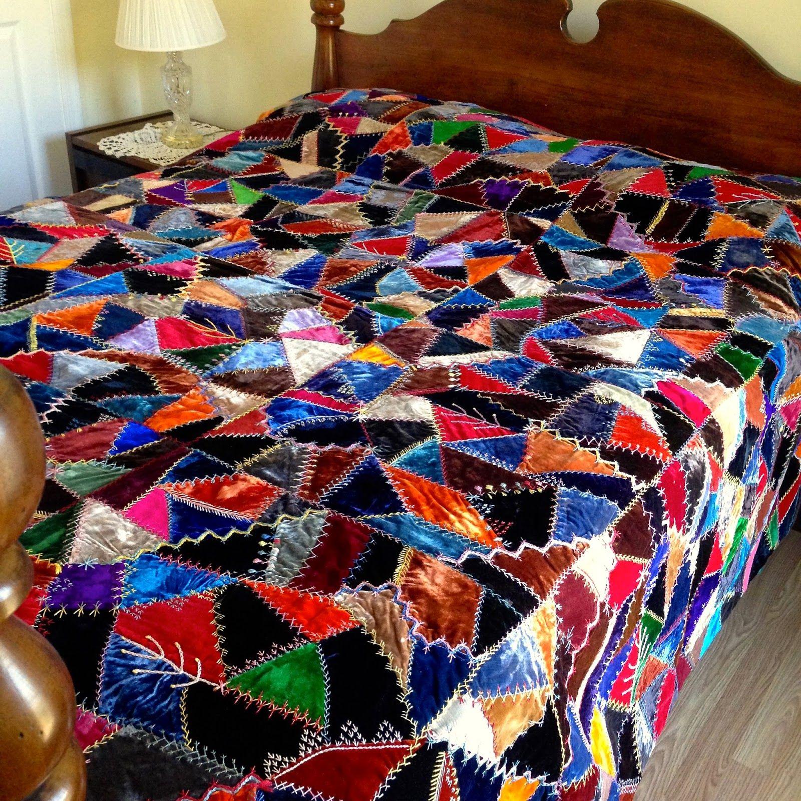 Crazy For Crazy Quilts Antique Crazy Quilts Quilts