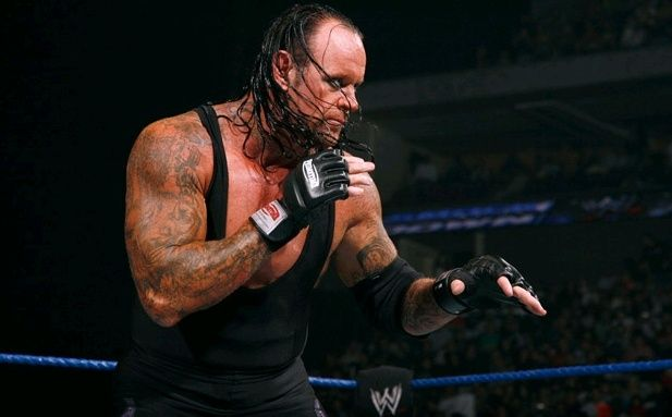 Undertaker And Khali Outside Ring