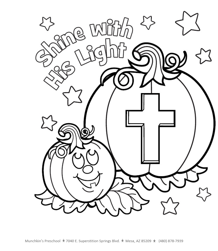 Image result for fall christian coloring pages | Halloween ...