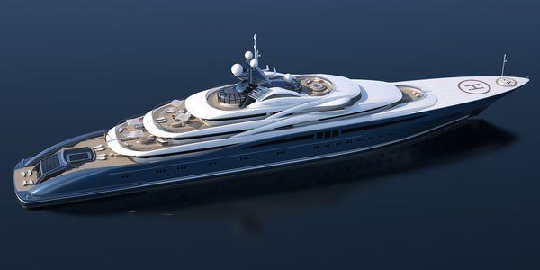 This 123m superyacht design