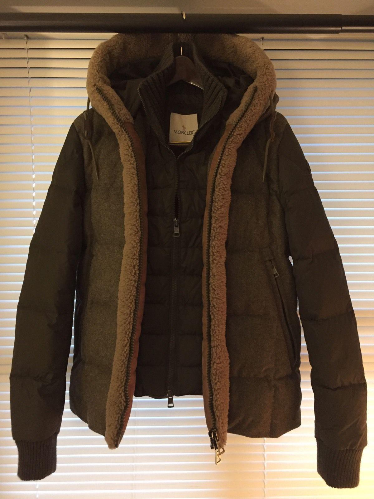 Moncler Montmedy Men's Down Winter Coat Size 3 Large