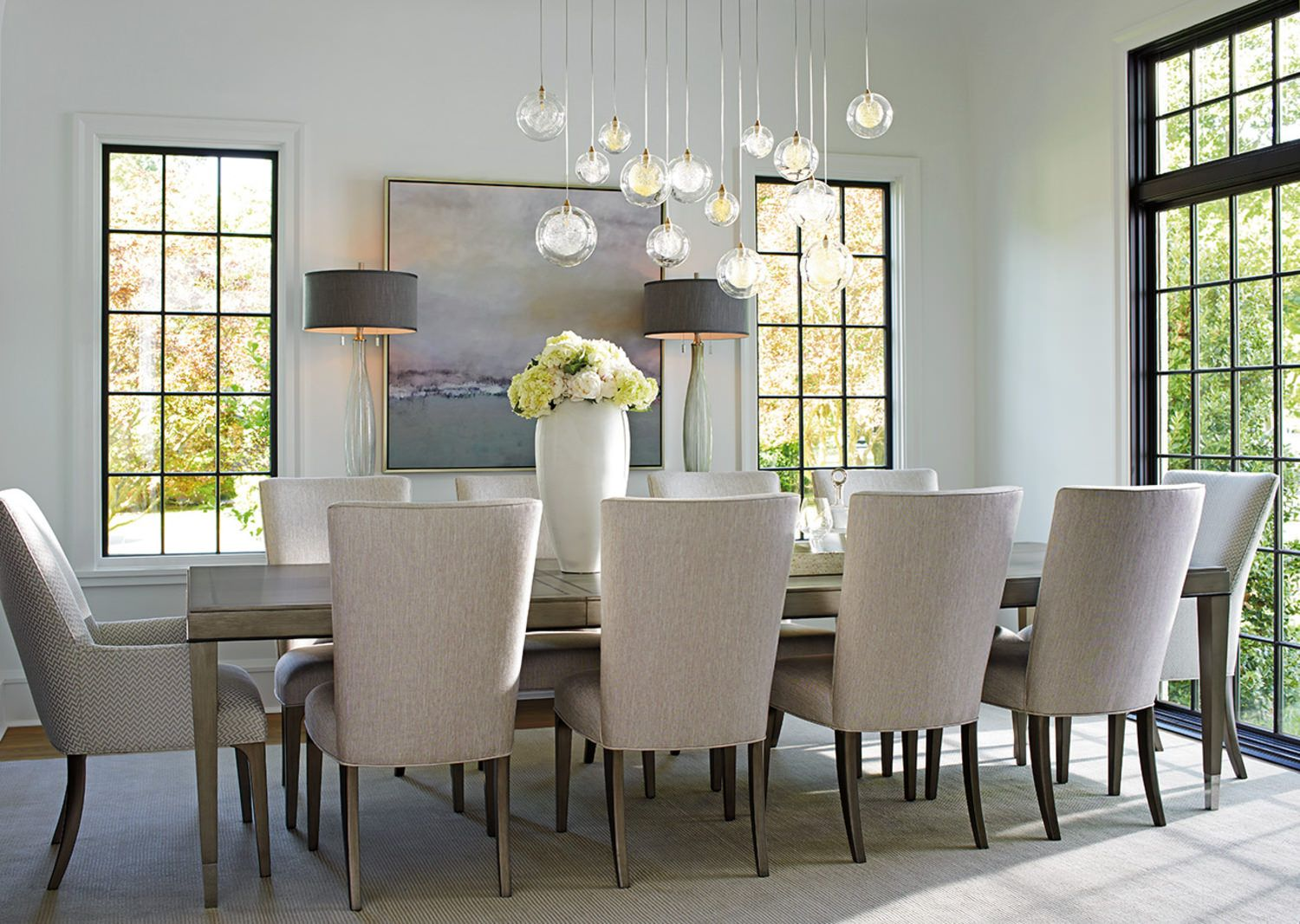 Ariana Dining Table By Lexington Gabberts On Clearance 3197 60 7 Pieces Rectangular Dining Table Dining Room Decor Dining Room Sets