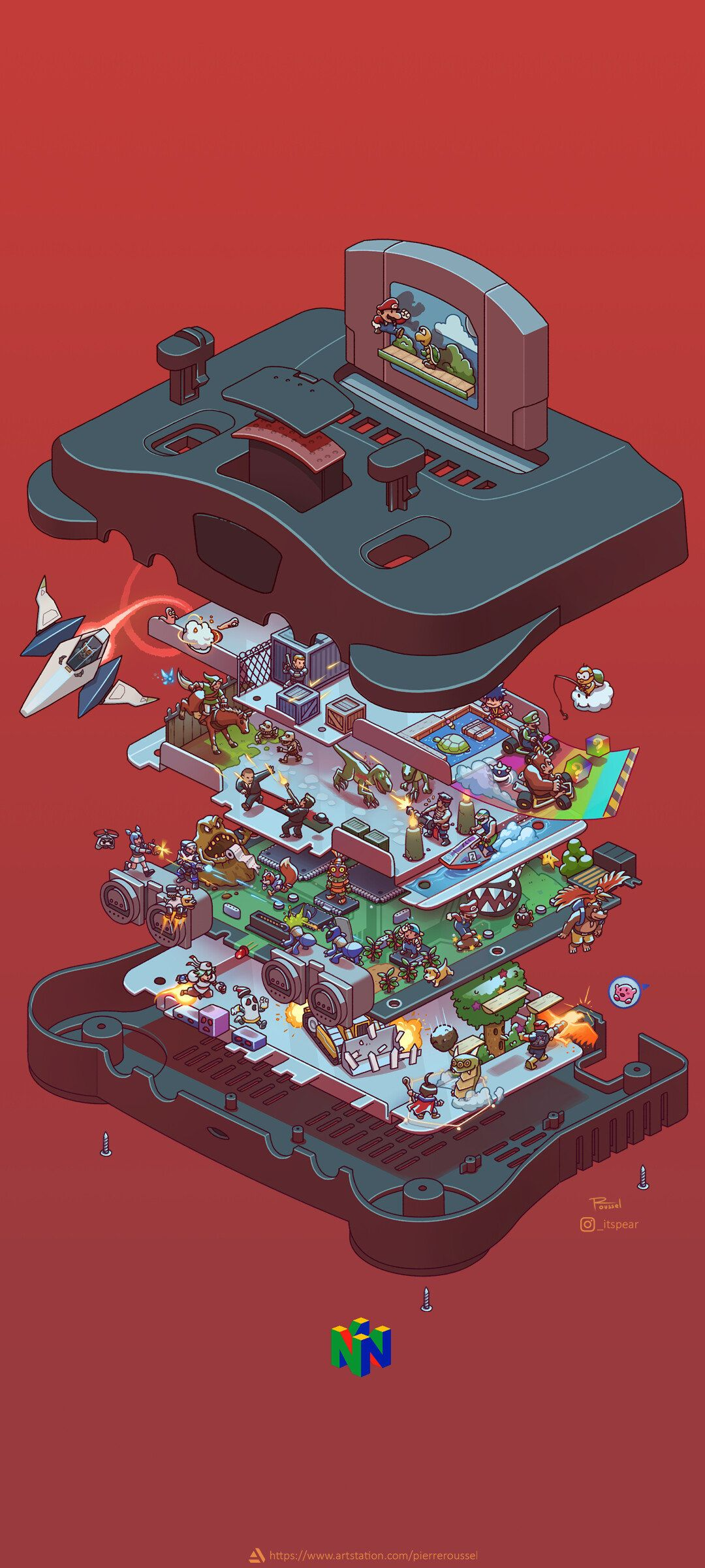 Nintendo 64 Retro Games Wallpaper Retro Gaming Art Iphone Wallpaper Video