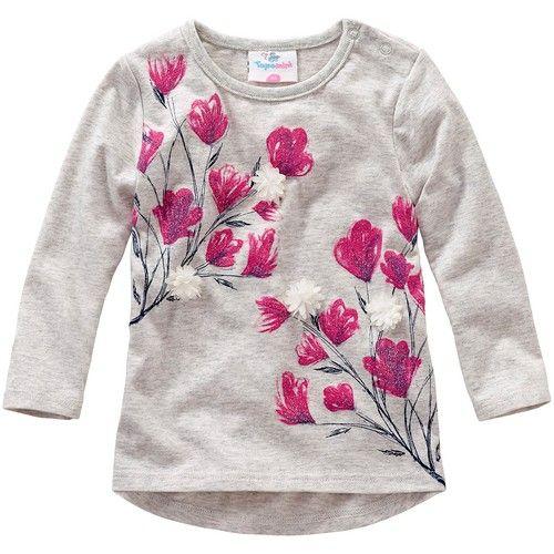 Baby Langarmshirt Von Topomini Bei Ernstings Family Gunstig Bestellen Gunstige Kleidung Mode Online Shop Baby Langarmshirt