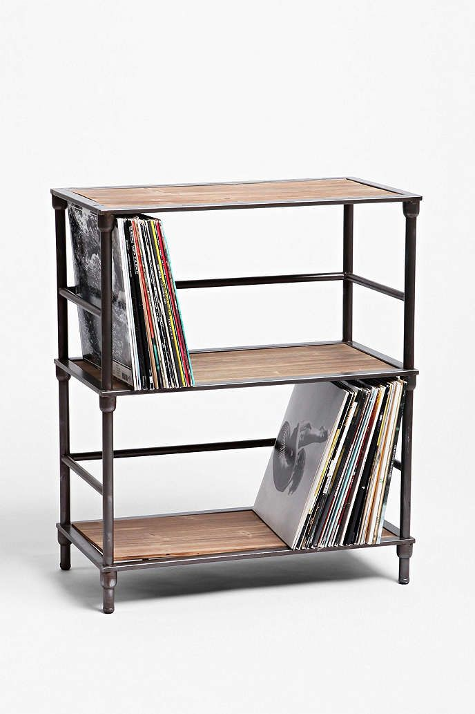 Shop Industrial Vinyl Storage Shelf at Urban Outfitters today.