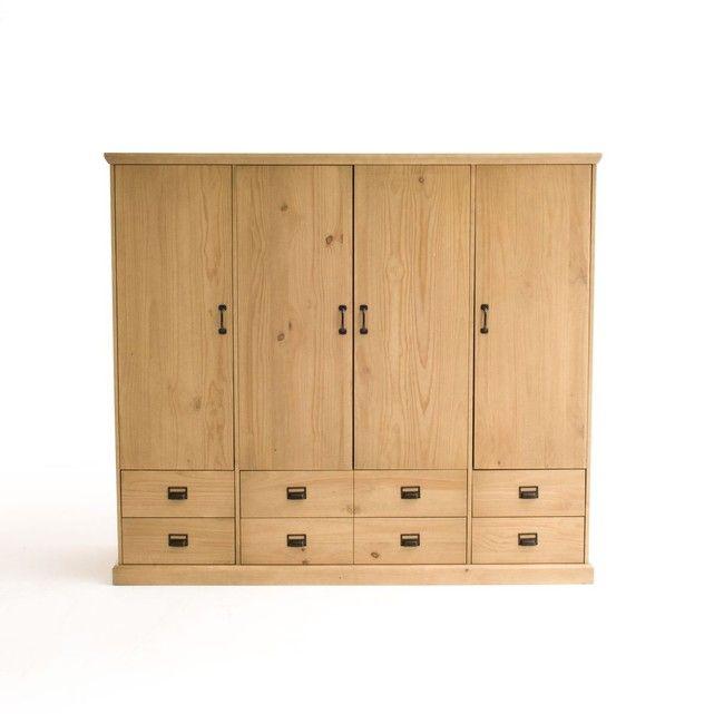 Armoire lindley id es d co armoire tall cabinet storage et locker storage - Meuble lingere rangement ...