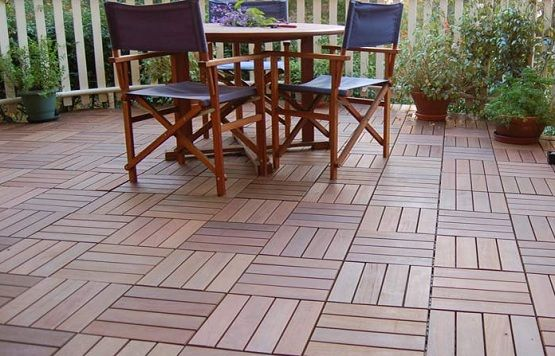 Interlocking Deck Tiles For Luxurious Outdoor Space Flooring