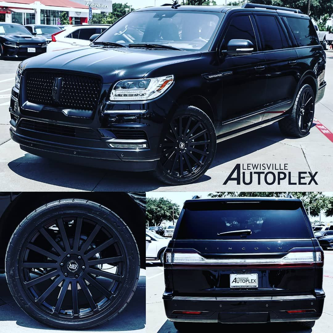 2018 Lincoln Navigator L All Black Out With 24s