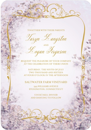 Wedding stationery wednesday mauve mist wedding invitations purple wedding invitations and save the dates on the wedding paper divas blog today junglespirit Image collections
