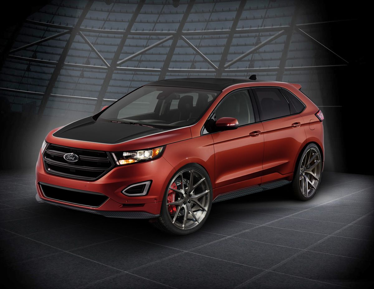 Webasto Brings A Ford Edge To Sema With Custom Wheels And More