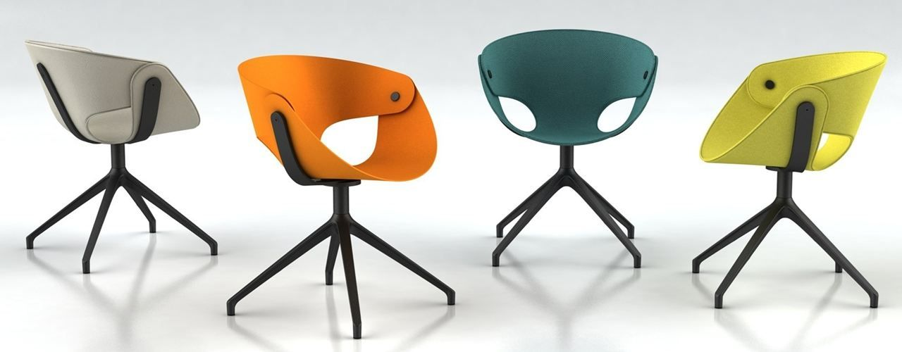 Fl@t A flat sheet becomes a shell The new Tonon chair on show at - designer mobel timothy schreiber stil