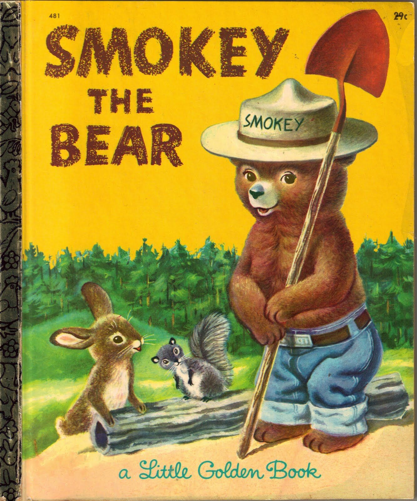 Smokey The Bear, illustrated by Richard Scarry
