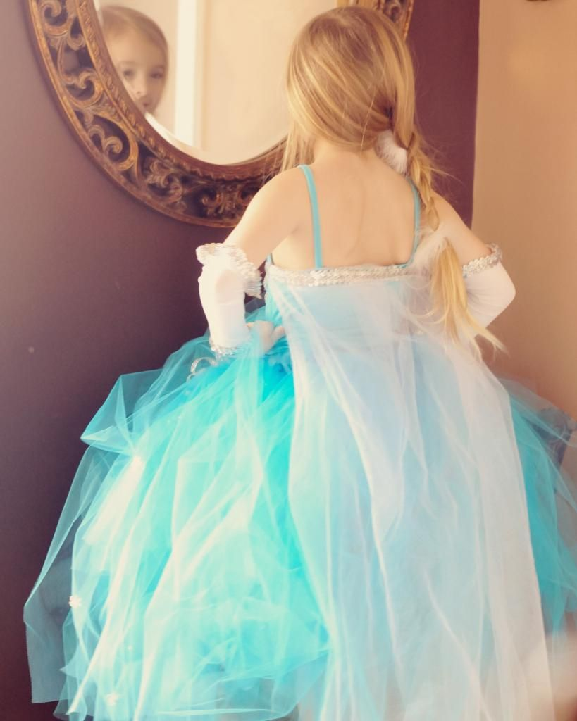Fingerless gloves asda - Disney Movie Frozen Elsa Inspired Tutu Dress Set With Skirt Top Cape Fingerless Gloves Gorgeous Full