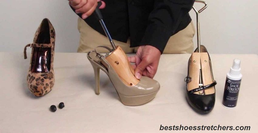 High Heel Shoe Stretchers with Shoe Stretch Spray