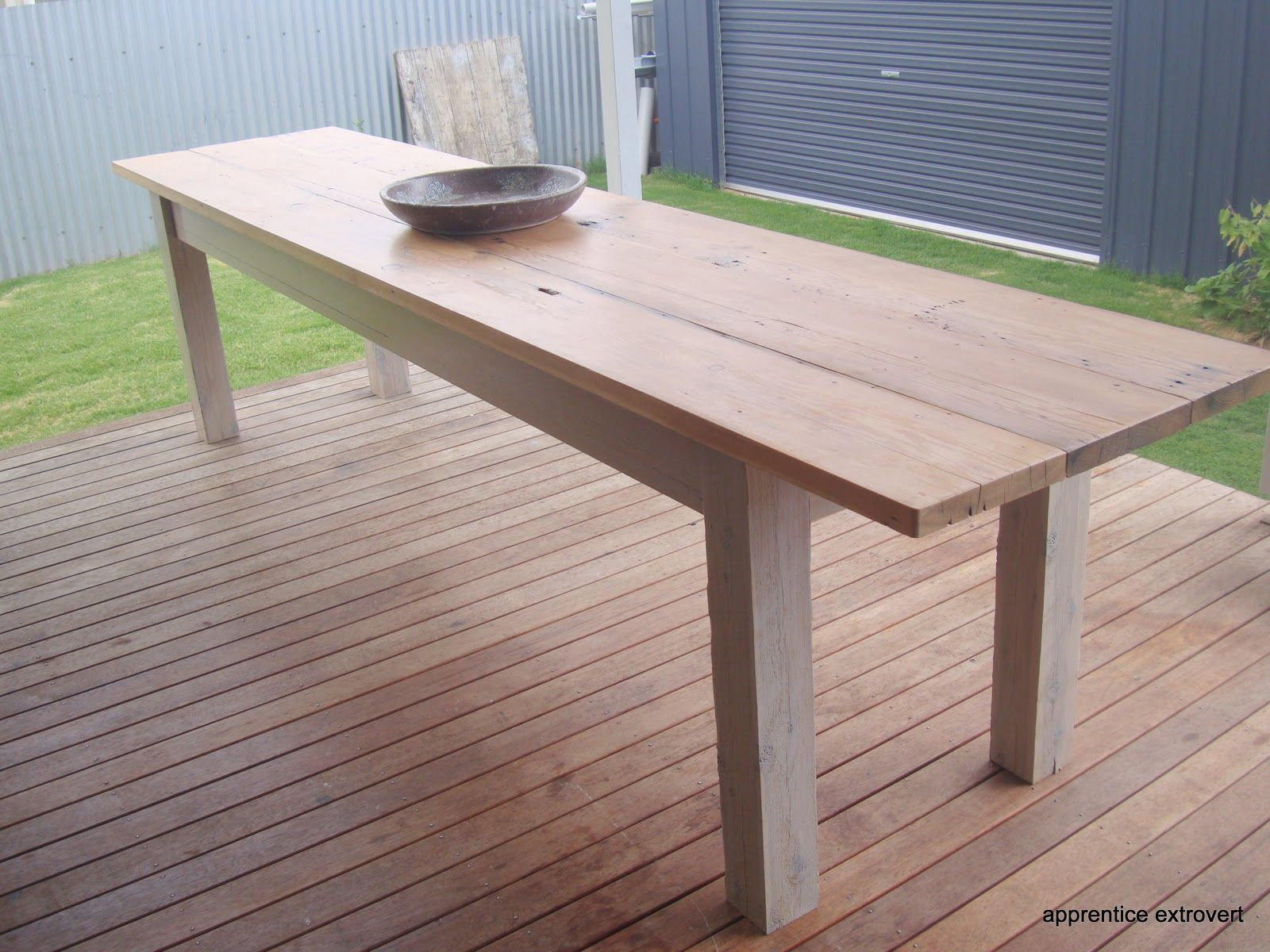 Before And After Outdoor Dining Table Narrow Dining Tables