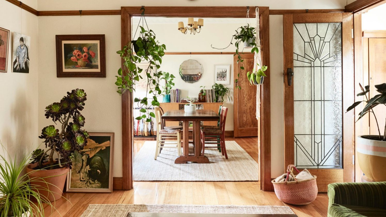 inside the art deco home of a creative couple art deco room and