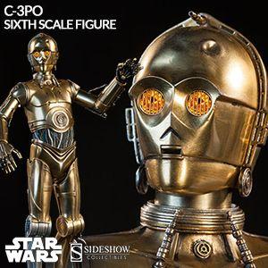 [Sideshow:1/6 - Star Wars - C-3PO ]