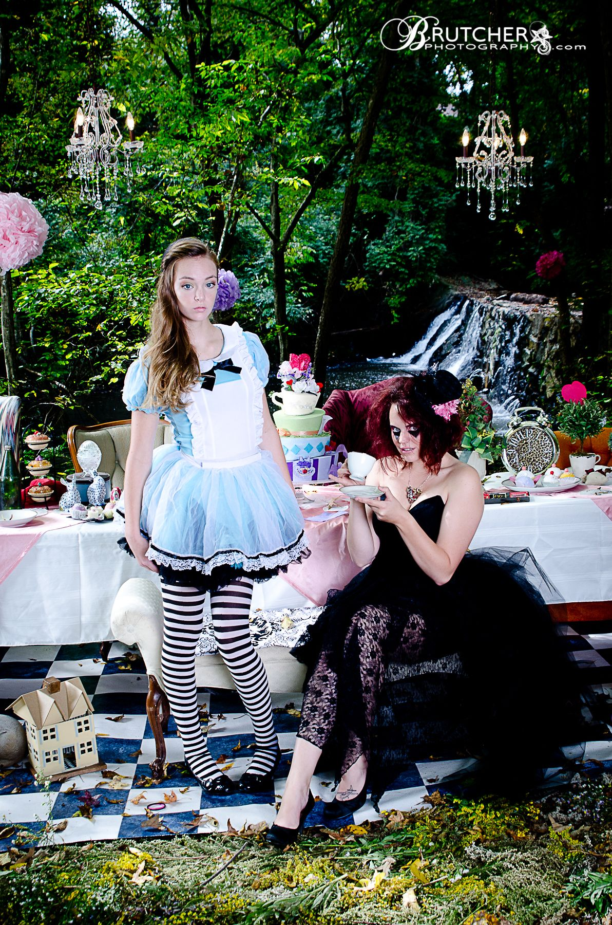 Alice in Wonderland photoshoot by Brutcher Photography