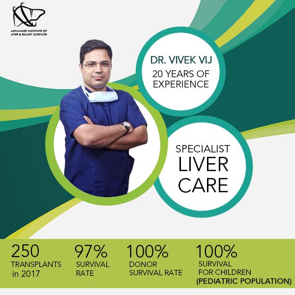 Dr. Vivek Vij is a liver transplant surgeon in India