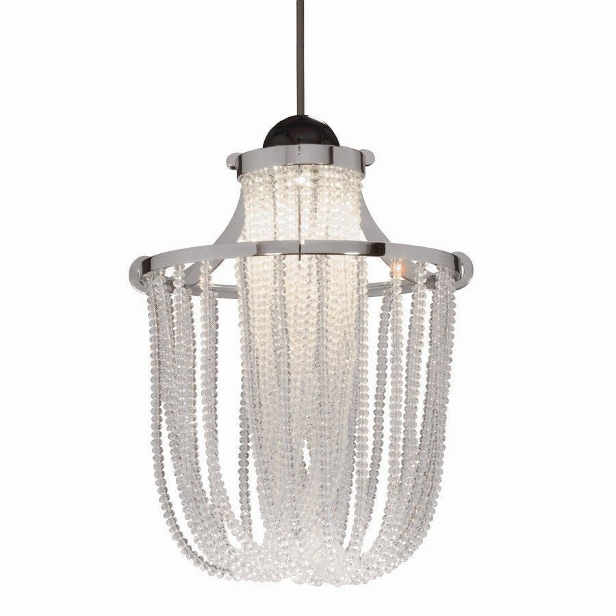 Crystal Cascade Quick Connect 1 Light Pendant | Products ...