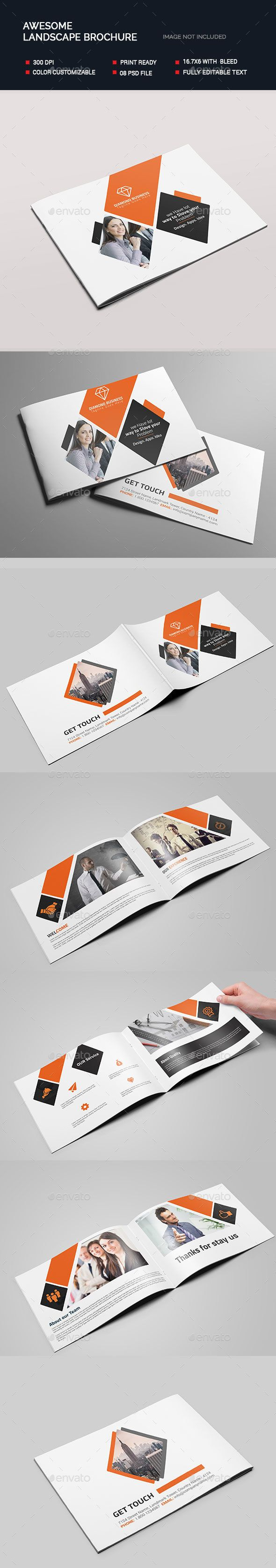 awesome landscape brochure template psd download here http