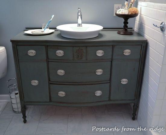 Phenomenal Used Bathroom Vanity Tutorial Dresser Vanity Bathroom