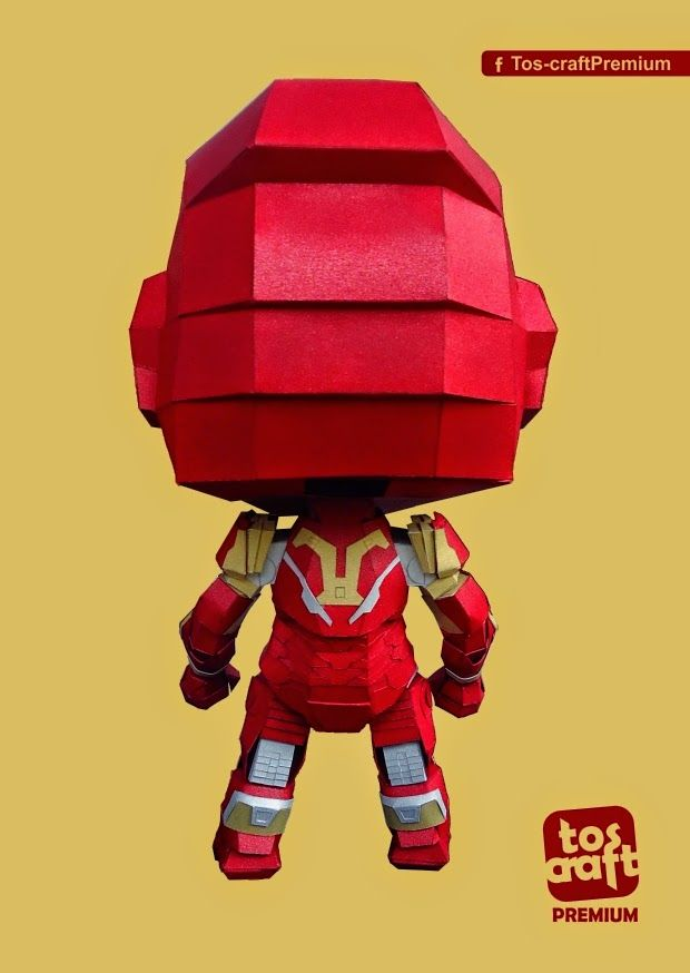 Hi! Hope you gus all waiting for this.  As promise I release this iron man mark 43 papercraft free..   This time I place a note on the fi...