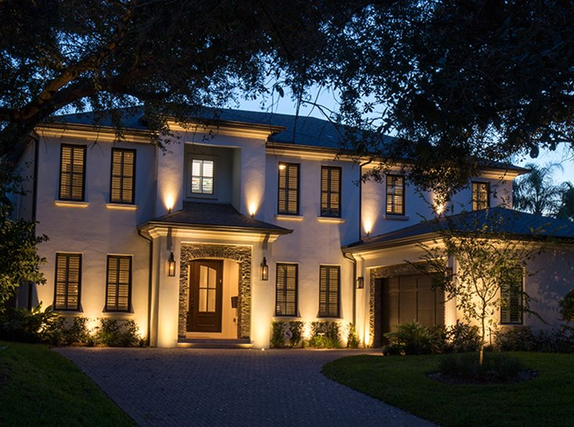 Amazing Landscape Lighting Using Volt Fixtures
