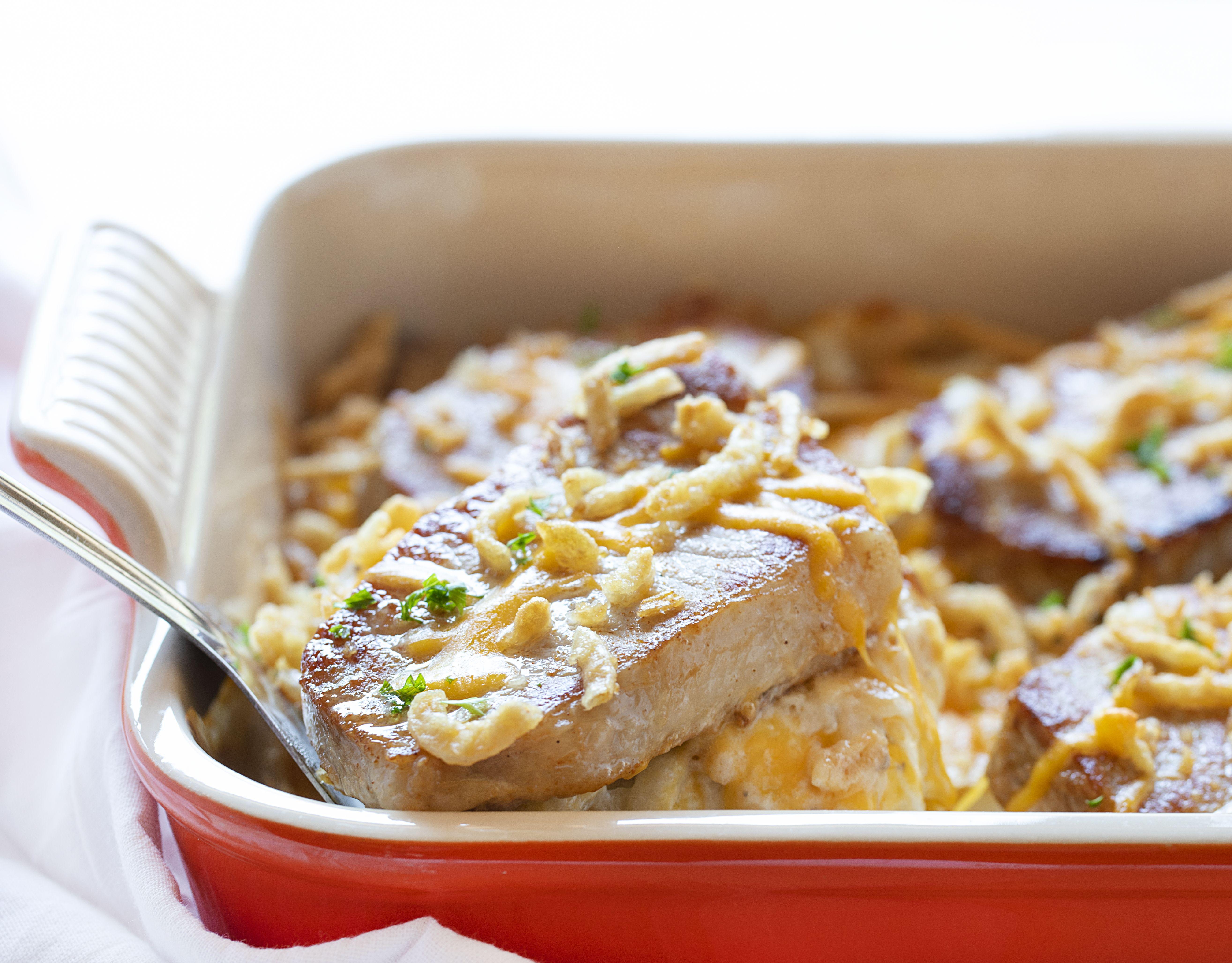 Pork Chop Casserole Recipe Pork Chop Casserole Pork Chops Pork Casserole