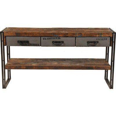 Excellent Addison 3 Drawer Console Table By Meva Furniture 750 99 Inzonedesignstudio Interior Chair Design Inzonedesignstudiocom