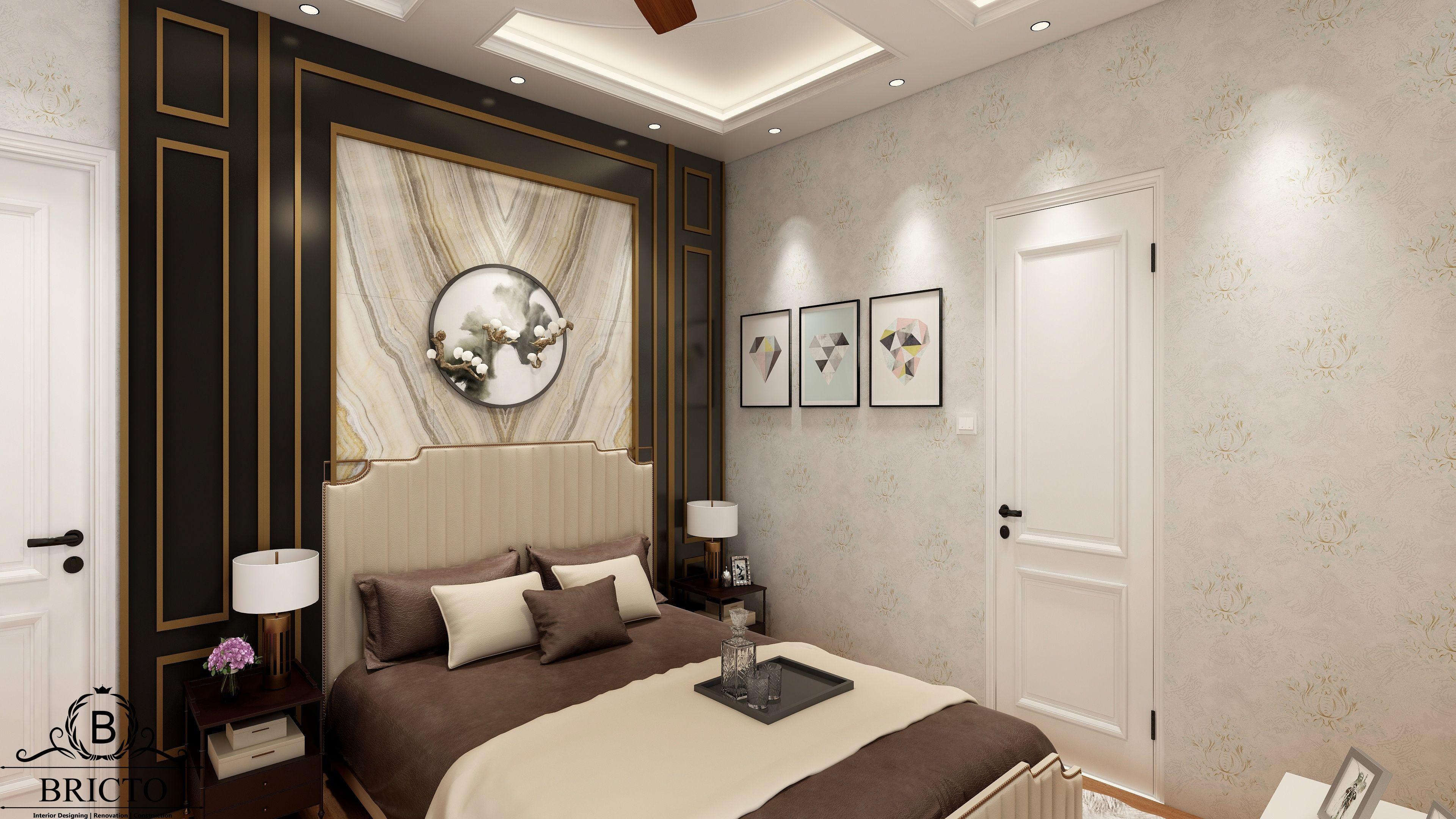 BACKGROUND PANEL, BED DESIGN, MODERN BEDROOM DESIGN  Modern